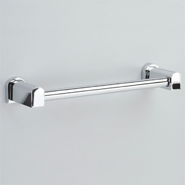 Towel Bar 12 Inch Chrome or Chrome and Gold Towel Bar 85147 Windisch 85147
