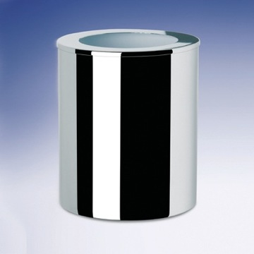 Round Metal Bathroom Waste Bin 89129 Windisch 89129