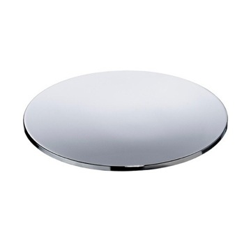 Free Standing Brass Round Soap Dish With Chrome or Gold Finish