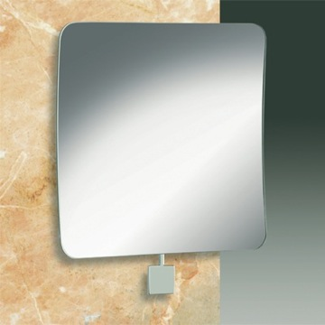 Makeup Mirror One Face Square Chrome or Gold 3x Magnifying Mirror 99075 Windisch 99075