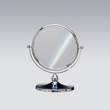 Double Face 3x Chrome or Gold Magnifying Mirror