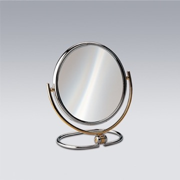 Makeup Mirror Brass Double Face 3x, 5x, 5xop, or 7xop Magnifying Mirror 99121 Windisch 99121
