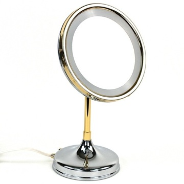Makeup Mirror Pedestal Round 3x or 5x Magnifying Mirror 99151 Windisch 99151