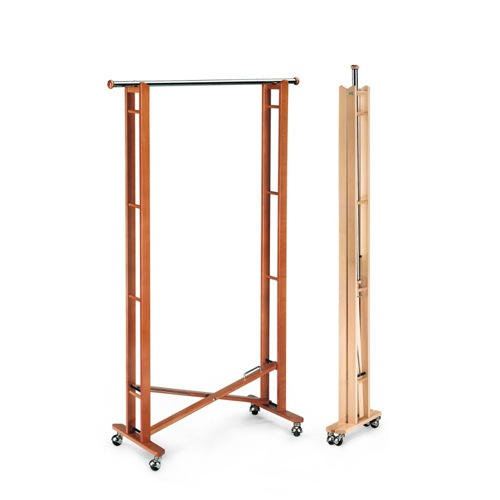 Woodworking wooden clothes rack PDF Free Download