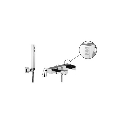 Deck Mount Tub Filler, Fima S3504/5C, Deck Mounted Tub Mixer With Hand Shower Set S3504/5C