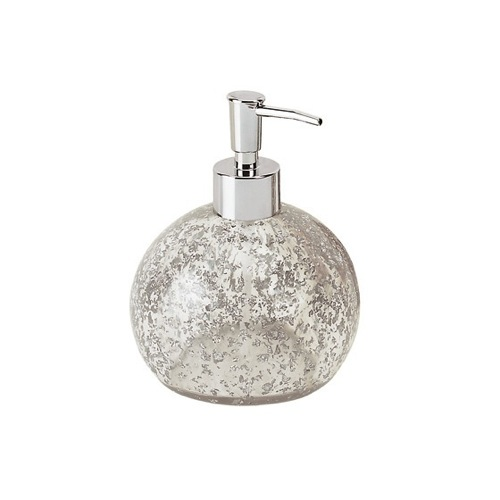 Round Transparent Countertop Soap Dispenser