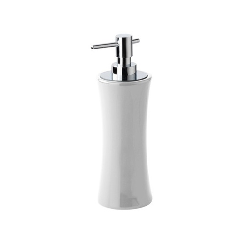 Ceramic Pottery Rounded Soap Dispenser