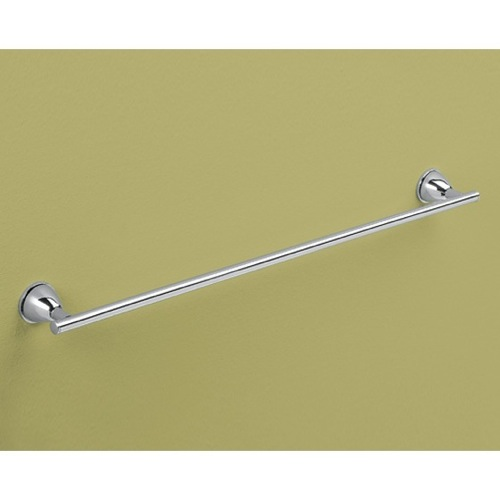 Modern Chrome 24 Inch Towel Bar