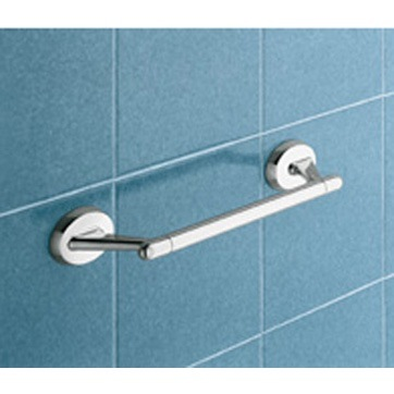 Contemporary Chrome 14 Inch Towel Bar