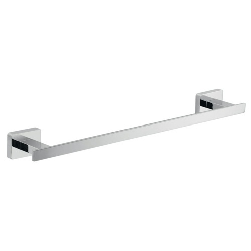 14 Inch Square Polished Chrome Towel Bar