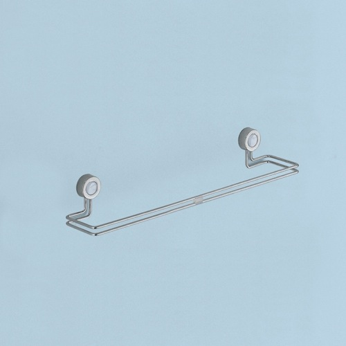 Chrome Wall Mounted 12 Inch Towel Bar