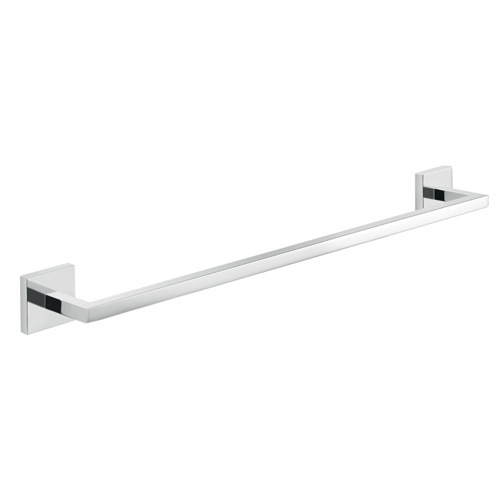 Chrome 20 Inch Wall Mounted Towel Bar