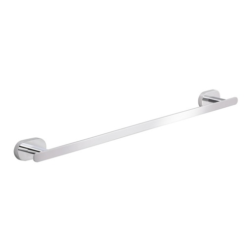 18 Inch Round Wall Mounted Chrome Towel Bar