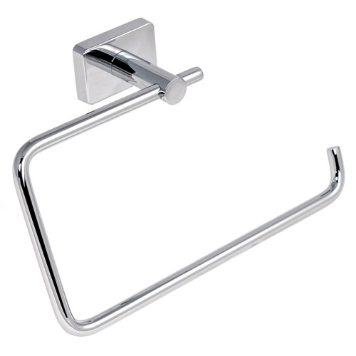 Square Stainless Steel Towel Ring