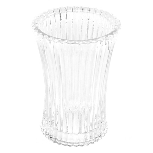 Toothbrush Holder, Gedy 8998-00, Free Standing Tumbler in Transparent Glass 8998-00
