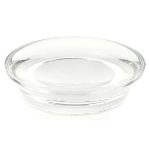 Round Soap Dish Made From Thermoplastic Resins Available in Multiple Finishes