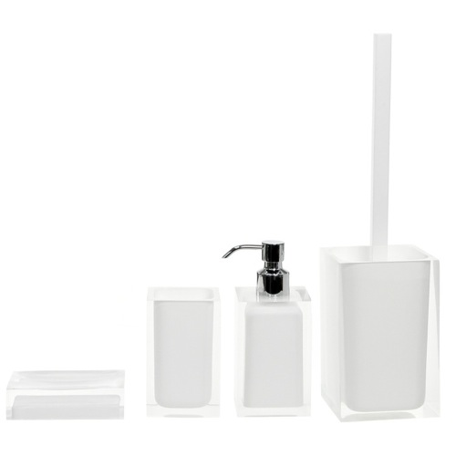 White Accessory Set of Thermoplastic Resins