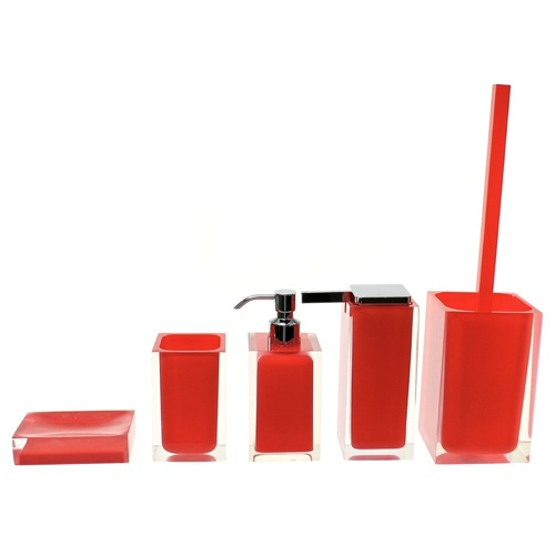 Rainbow Red Accessory Set of Thermoplastic Resins