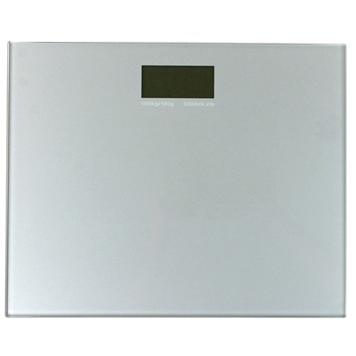 Silver Electronic Bathroom Scale
