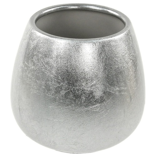 Silver or Gold Round Tumbler in Pottery