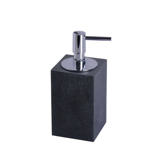 Square Free Standing Soap Dispenser Available in Multiple Finishes