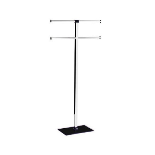 Floor Standing Towel Rack of Steel and Resin