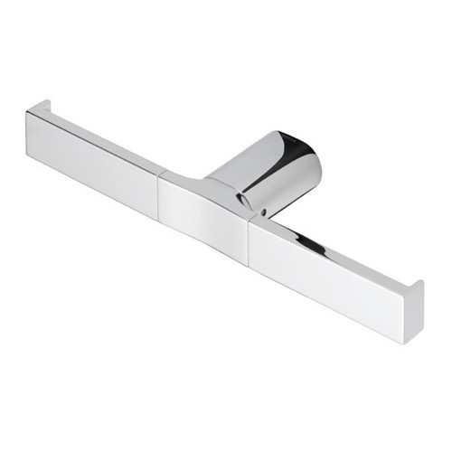 Rectangle Wall Mounted Chrome Toilet Paper Holder