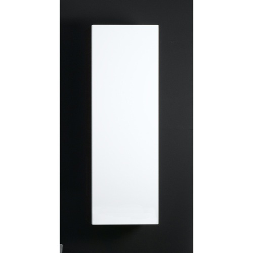 Glossy White Small Storage Cabinet