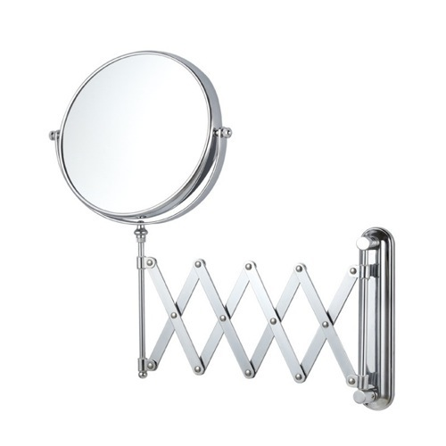 Double Sided Adjustable Arm 3x Shaving Mirror