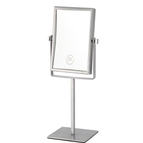 Double Face Rectangular 3x Makeup Mirror