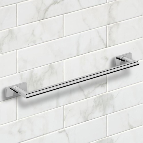 21 Inch Polished Chrome Towel Bar
