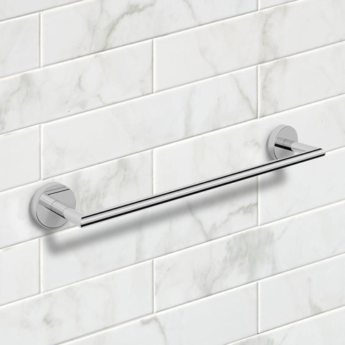 19 Inch Modern Chrome Towel Bar