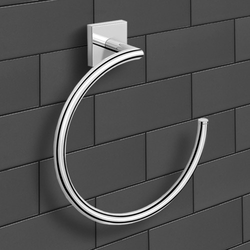 Polished Chrome Towel Ring