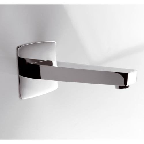 Bathtub Spout, Ponsi 350/2 CR, 7 Inch Chrome Wall Mounted Spout 350/2 CR
