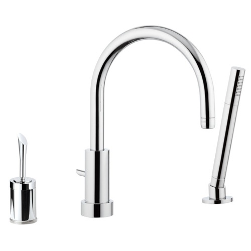 Single-Lever Deck Mount Bath and Shower Mixer
