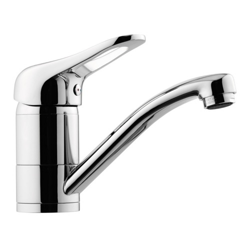Bathroom Faucet With Single Lever and Movable Spout