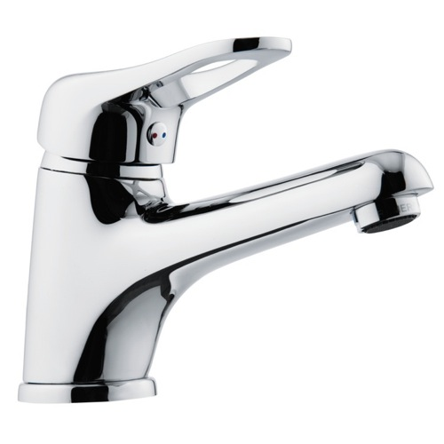 Single Lever Bathroom Faucet With Long Spout