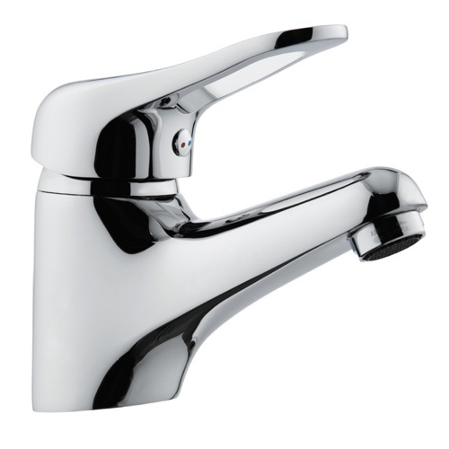 Bathroom Faucet With Single Lever In Chrome Finish