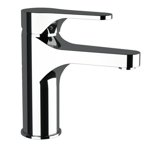 Deck Mount Chrome Bathroom Faucet