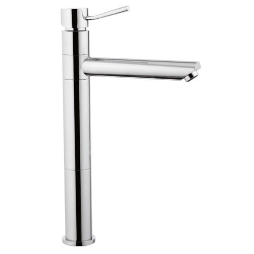 Tall Single-Lever Sink Mixer With Movable Spout In Chrome Finish