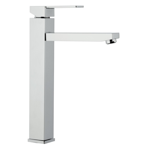 High Neck Single Lever Chrome Basin Mixer