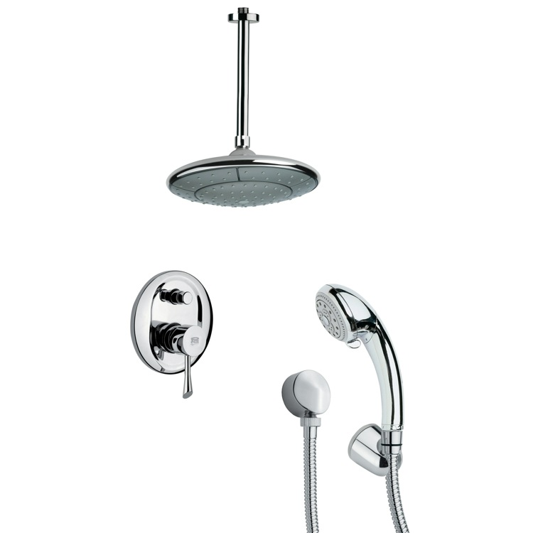 Modern Shower Faucet with Hand Shower