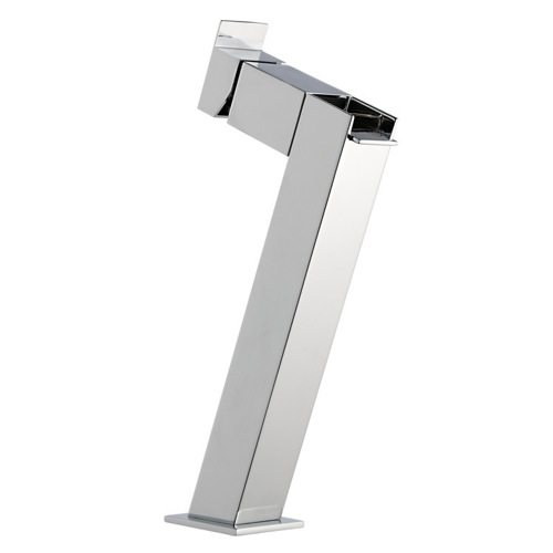 Basin Mixer with High Neck and Waterfall Spout