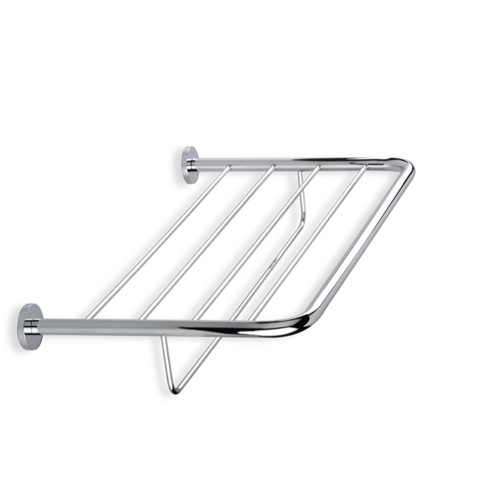 Wall Mounted Chrome or Satin Nickel Towel Rack