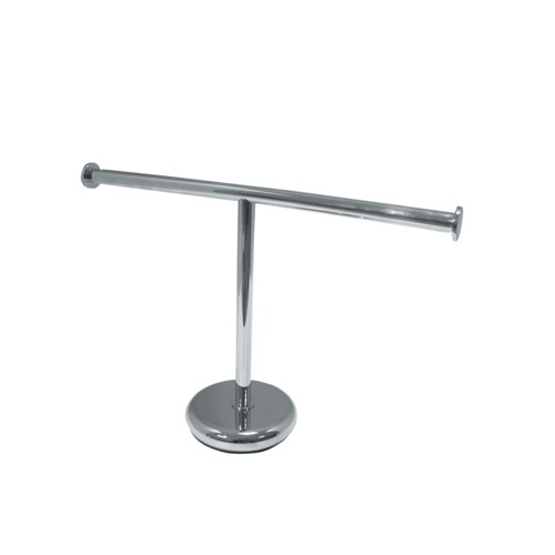 Short Tabletop Brass Towel Stand