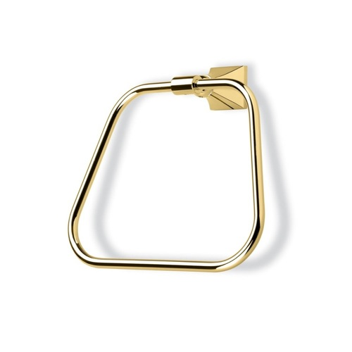 Gold Classic-Style Brass Towel Ring