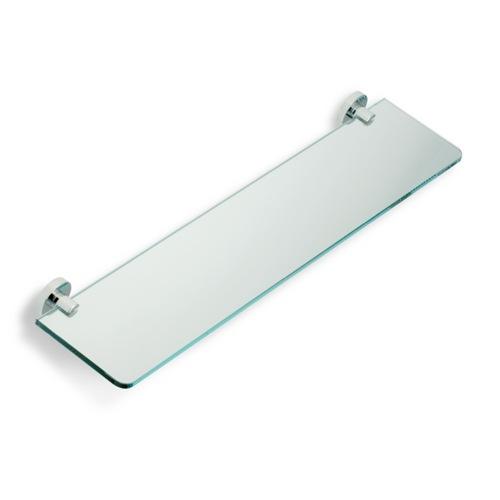 Chrome Clear Glass Bathroom Shelf. StilHaus Glass Bathroom Accessories   TheBathOutlet com