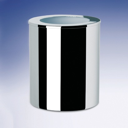 Waste Basket, Windisch 89129, Round Metal Bathroom Waste Bin 89129