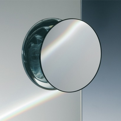 Suction Pad Chrome 3x or 5x One Face Magnifying Mirror