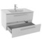 33 Inch Vanity Cabinet With Fitted Sink